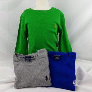 Ralph Lauren Sport Long Sleeve Tshirt  Bundle Sz M